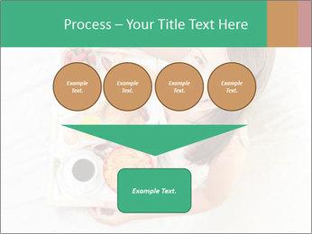 Woman having breakfast PowerPoint Templates - Slide 93