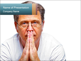Reading glasses PowerPoint Template