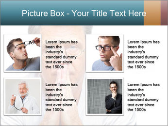 Reading glasses PowerPoint Templates - Slide 14
