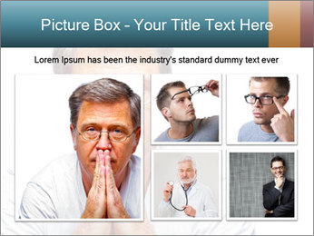 Reading glasses PowerPoint Templates - Slide 19