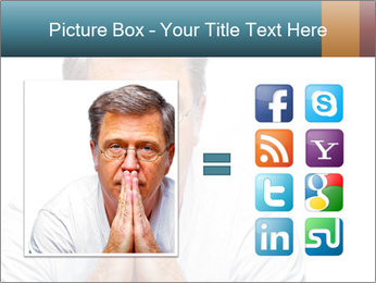 Reading glasses PowerPoint Templates - Slide 21