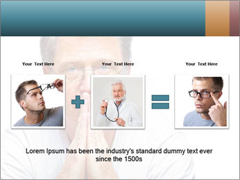 Reading glasses PowerPoint Templates - Slide 22