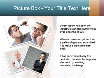 Reading glasses PowerPoint Templates - Slide 23