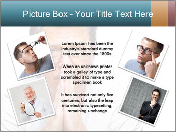 Reading glasses PowerPoint Templates - Slide 24