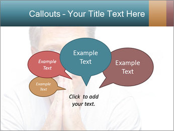Reading glasses PowerPoint Templates - Slide 73