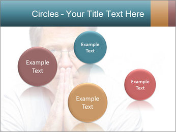 Reading glasses PowerPoint Templates - Slide 77