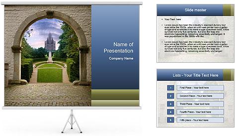 Castle PowerPoint Template