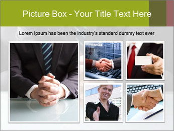Holding hand PowerPoint Template - Slide 19
