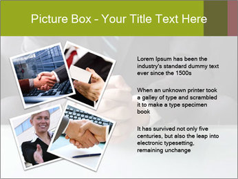 Holding hand PowerPoint Template - Slide 23