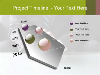 Holding hand PowerPoint Template - Slide 26