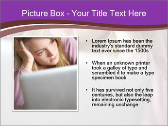 Teenage Girl PowerPoint Templates - Slide 13