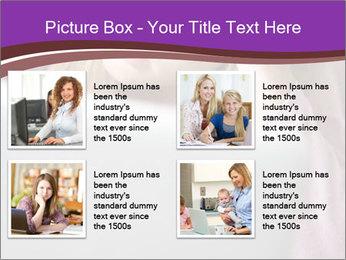 Teenage Girl PowerPoint Templates - Slide 14