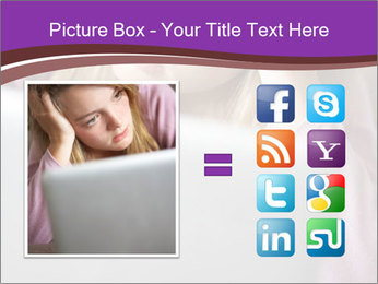 Teenage Girl PowerPoint Templates - Slide 21