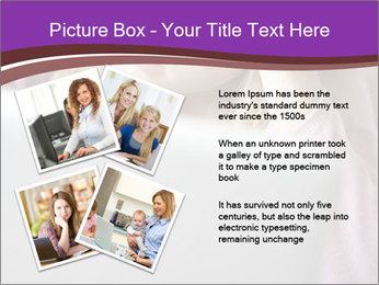 Teenage Girl PowerPoint Templates - Slide 23