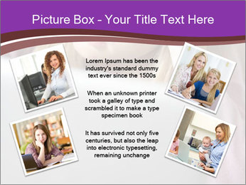 Teenage Girl PowerPoint Templates - Slide 24