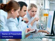 The laboratory PowerPoint Templates