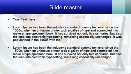 The laboratory PowerPoint Template - Slide 2