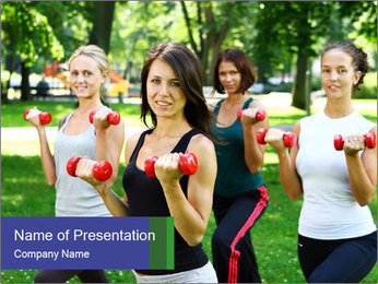 Young and attractive PowerPoint Template - Slide 1