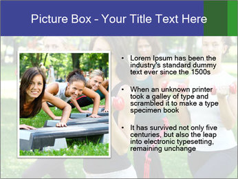 Young and attractive PowerPoint Template - Slide 13