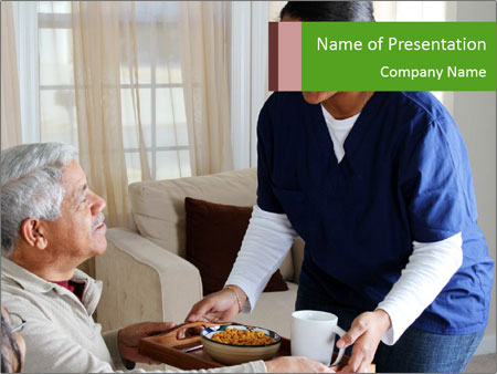 Home health PowerPoint Templates