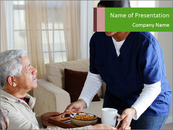 Home health PowerPoint Template - Slide 1