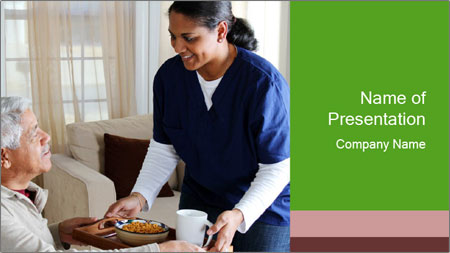 Home health PowerPoint Template