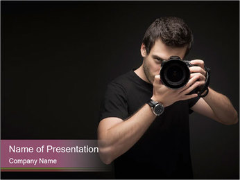 Photographer PowerPoint Template - Slide 1