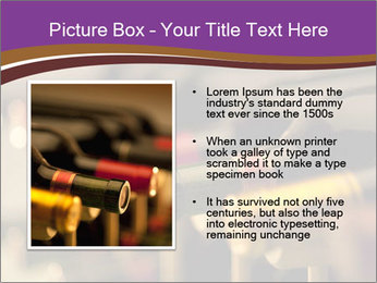 Red wine bottles PowerPoint Template - Slide 13
