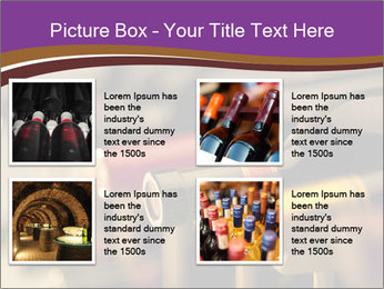 Red wine bottles PowerPoint Template - Slide 14