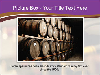 Red wine bottles PowerPoint Template - Slide 15