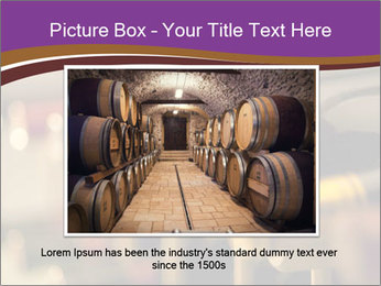 Red wine bottles PowerPoint Template - Slide 16