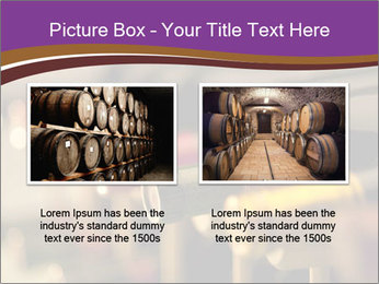 Red wine bottles PowerPoint Template - Slide 18