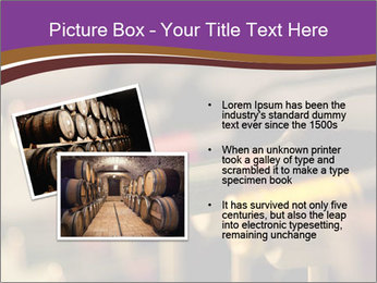 Red wine bottles PowerPoint Template - Slide 20
