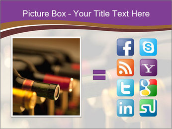 Red wine bottles PowerPoint Template - Slide 21