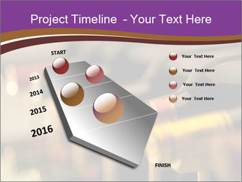 Red wine bottles PowerPoint Template - Slide 26