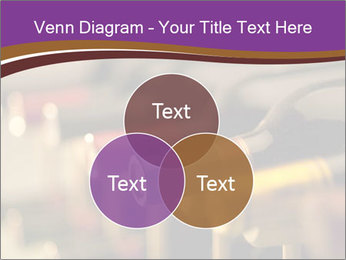 Red wine bottles PowerPoint Template - Slide 33