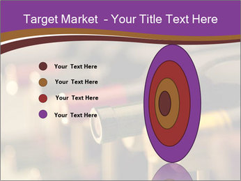 Red wine bottles PowerPoint Template - Slide 84