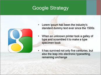 Woman jumping PowerPoint Templates - Slide 10