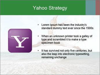 Woman jumping PowerPoint Templates - Slide 11