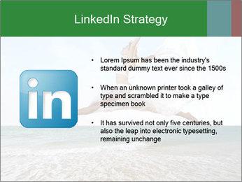 Woman jumping PowerPoint Templates - Slide 12