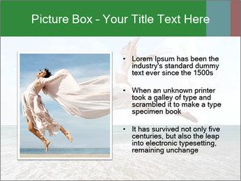 Woman jumping PowerPoint Templates - Slide 13
