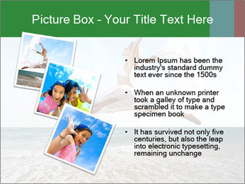 Woman jumping PowerPoint Templates - Slide 17