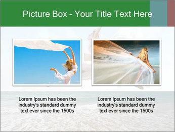 Woman jumping PowerPoint Templates - Slide 18