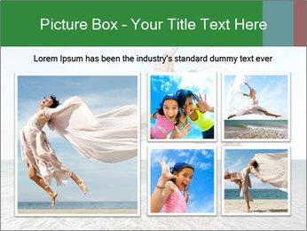 Woman jumping PowerPoint Templates - Slide 19