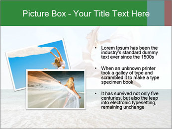 Woman jumping PowerPoint Templates - Slide 20