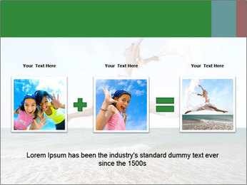 Woman jumping PowerPoint Templates - Slide 22