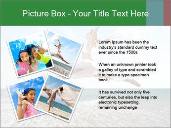 Woman jumping PowerPoint Templates - Slide 23