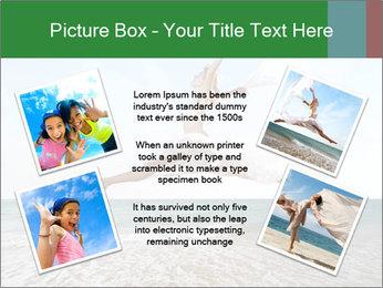 Woman jumping PowerPoint Templates - Slide 24