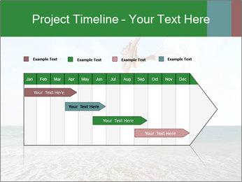 Woman jumping PowerPoint Templates - Slide 25