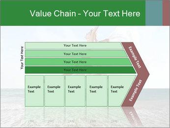 Woman jumping PowerPoint Templates - Slide 27